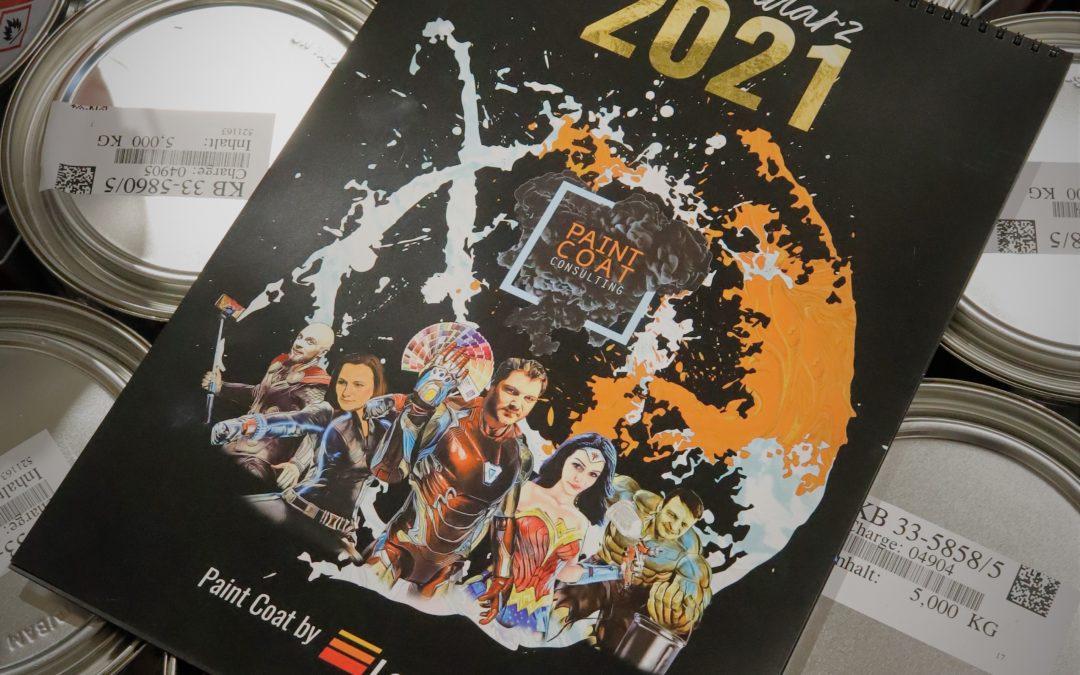 Kalendarz Paint Coat by Lankwitzer 2021