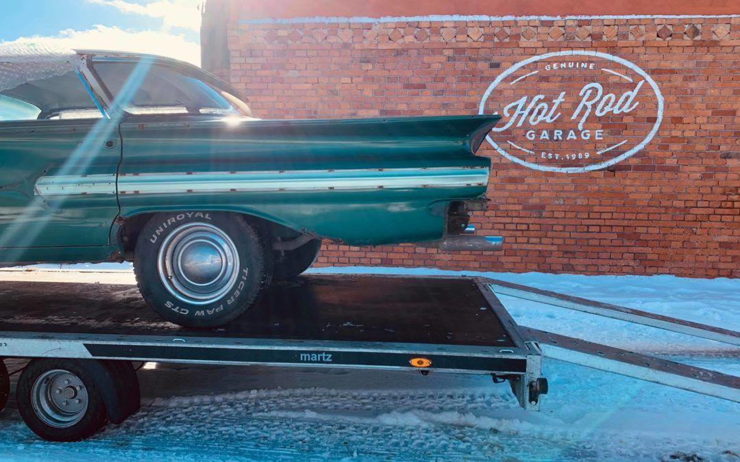 Nasza perła Chevrolet Impala przechodzi całkowitą renowację