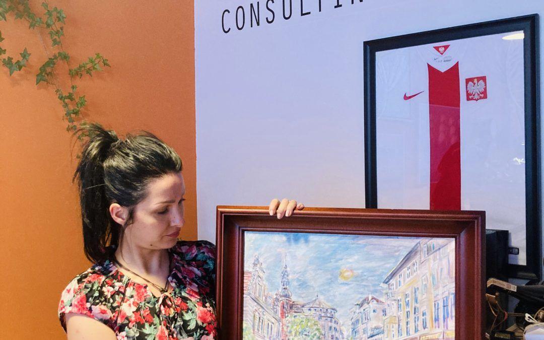 Paint Coat by Lankwitzer i obraz od PESA Bydgoszcz z pomocą dla Natalki Borowskiej
