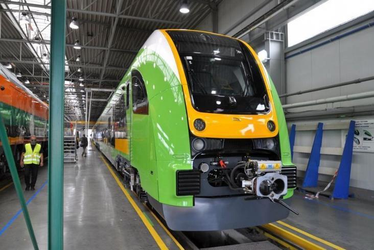 Pojazd PESA dla RegioJet pomalowany systemem Lankwitzer na TRAKO 2021